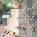 نکته هایی مهم قبل از سفارش کیک عروسی